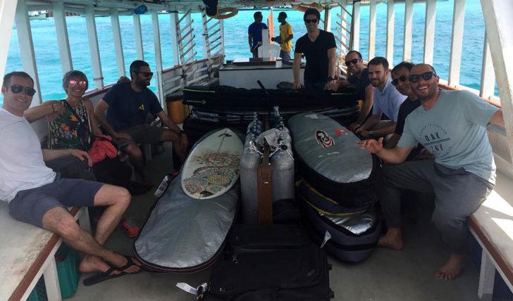 "45241Kike Lenzano fala sobre o projecto ""Maldivas com Kike Surf Coach"""