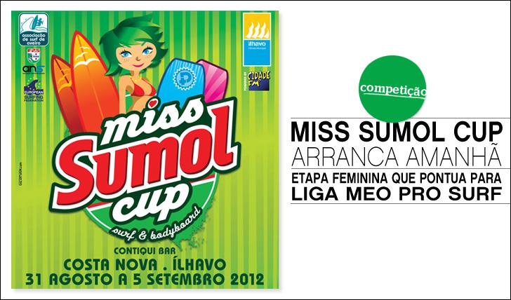 1820Miss Sumol Cup arranca amanhã
