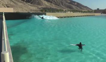 2171A melhor piscina de ondas do mundo? || 5:32