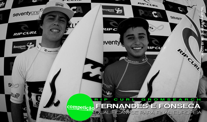 1920Fonseca e Fernandes qualificam-se para final europeia do Rip Curl Grom Search