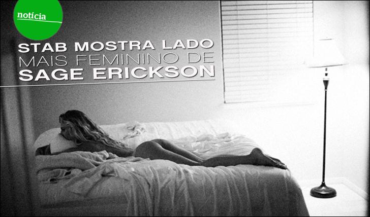 2975STAB mostra lado mais feminino de Sage Erickson