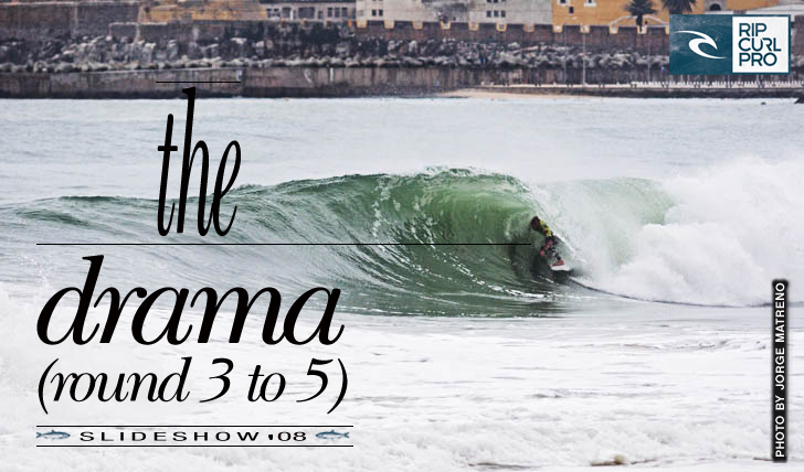 3884Rip Curl Pro Portugal | Slideshow | The Drama (round 3 to 5)