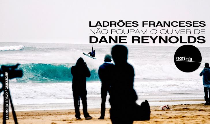 """3086Ladrões franceses """"atacam"""" (o quiver de) Dane"""