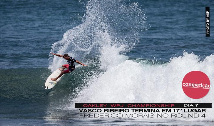 3386Vasco Eliminado no WPJ | Frederico no round 4