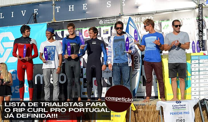 3204Lista de Trialistas para o Rip Curl Pro Portugal