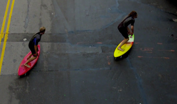 4242Como surfar nas ruas de Nova Iorque || 2:08