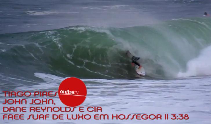 3054Free Surf de luxo em Hossegor com Saca || 3:37