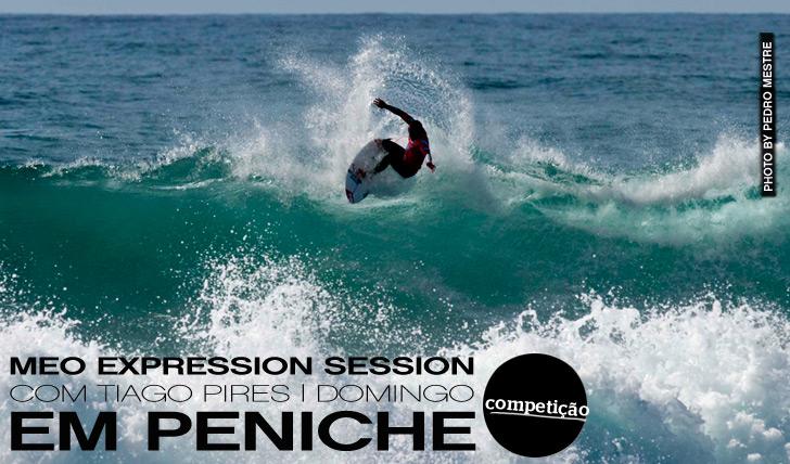 3164MEO Expression Session com Tiago Pires no último dia do Caixa Geral de Depósitos Peniche Pro (Domingo)