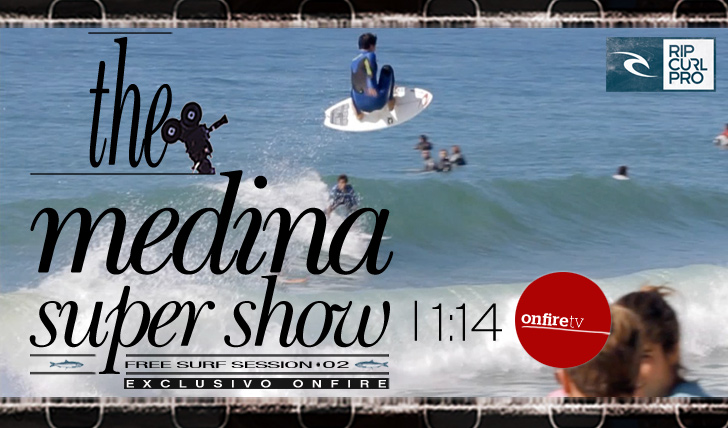 3750Rip Curl Pro Portugal | the medina super show | free surf session 02 || 1:14