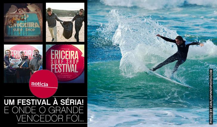 4877O Ericeira Surf Shop Festival foi um festival à séria, onde o vencedor foi…