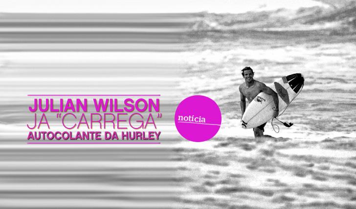 "5479Wilson já ""carrega"" Hurley no bico da prancha"