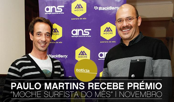 "5440Paulo Martins vence prémio ""Moche Surfista do Mês"" | Novembro"