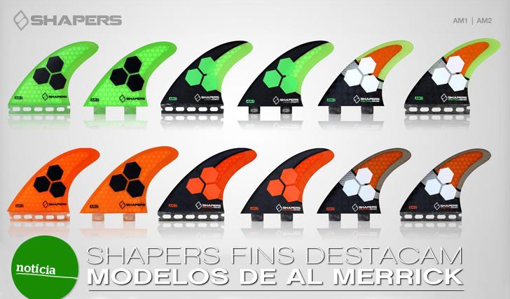 5491Shapers Fins destaca modelo de Al Merrick