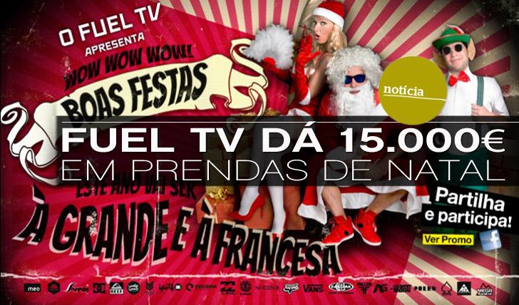 5696Fuel TV dá 15.000 euros em prémios este Natal
