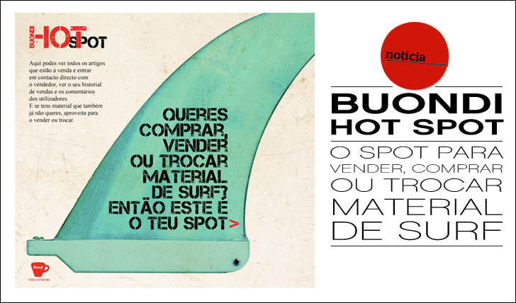 7179Hot Spot Buondi | O Spot Perfeito para vender, comprar e trocar material de Surf