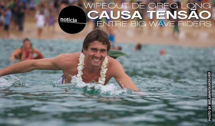 6224Wipeout de Greg Long causa Tensão entre Big Wave Riders