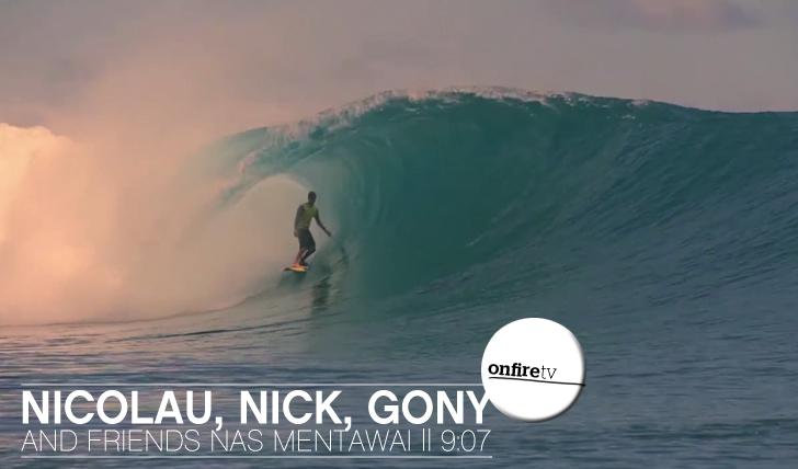 6381Nicolau, Nick e Gony nos Mentawai || 9:07