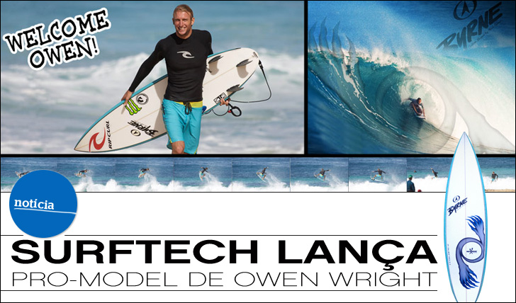 6475Surftech lança pro-model de Owen Wright