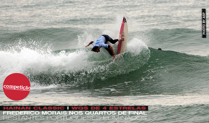 7101Morais nos 1/4s de final do Hainan Classic (WQS)