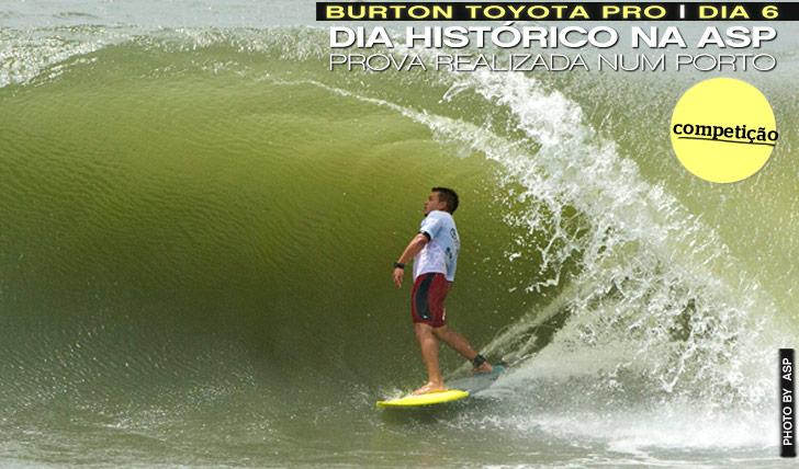 7802Burton Toyota Pro | Dia 6 | Prova realizada no porto de Newcastle