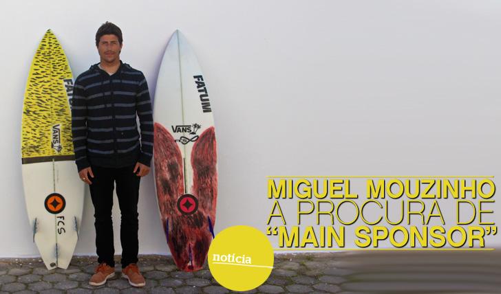 """7323Miguel Mouzinho à procura de """"Main Sponsor"""""""