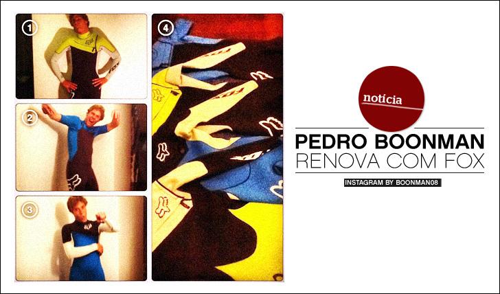 Pedro Boonman e os seus fatos Fox para 2013!