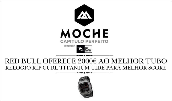 75852000 euros e relógio de marés para melhor tube e score do MOCHE Capítulo Perfeito