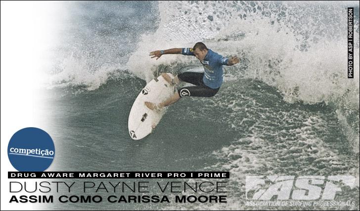8566Dusty Payne e Carissa Moore vencem em Margaret
