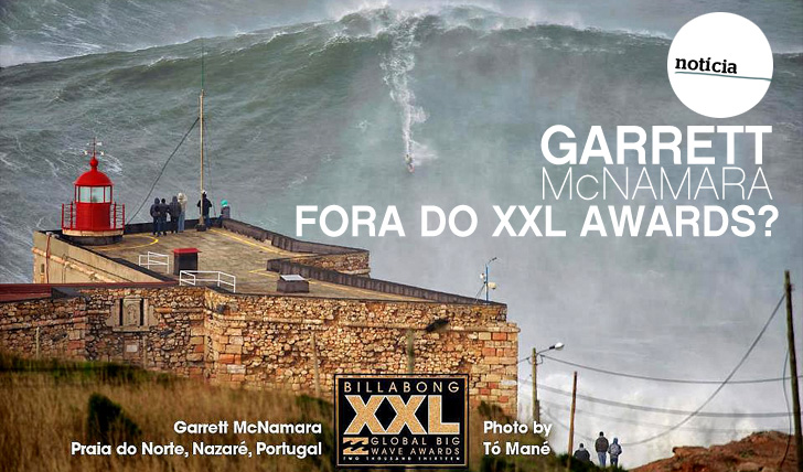 8048Garrett McNamara fora do XXL Awards