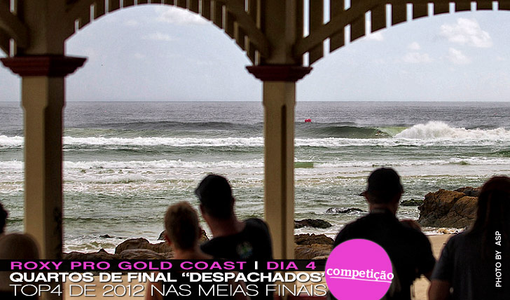 "8141Quartos de final ""despachados"" no Roxy Pro"
