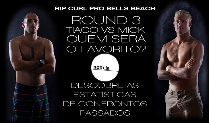 8789Tiago Pires VS Mick Fanning | As estatísticas