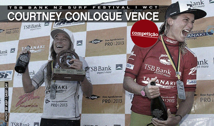 8961Courtney Conlogue vence TSB Bank NZ Surf Festival | WCT