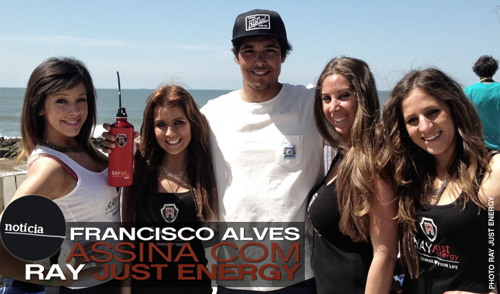 9264Francisco Alves assina com Ray Just Energy