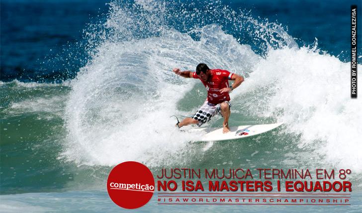 9119Mujica termina em 8º no ISA Masters no Equador