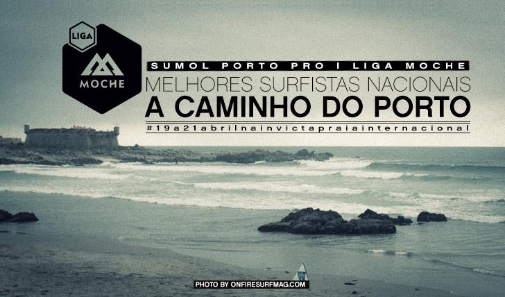 9199Melhores surfistas nacionais a caminho do Porto | Sumol Porto Pro