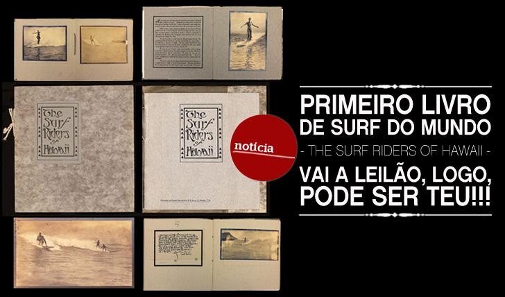 8880Primeiro livro de surf do mundo – The Surf Riders of Hawaii – vai ser leiloado