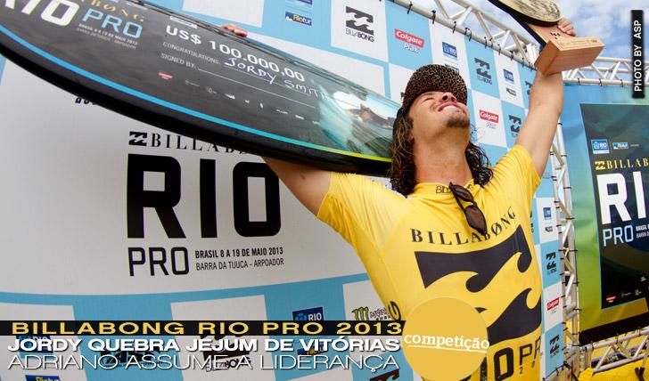 9914Jordy Smith quebra jejum de vitórias no Billabong Rio Pro