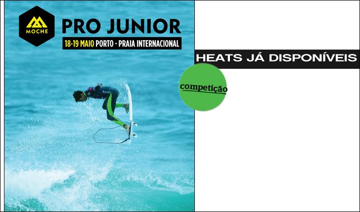 9864MOCHE Pro-Junior | Heats já disponíveis