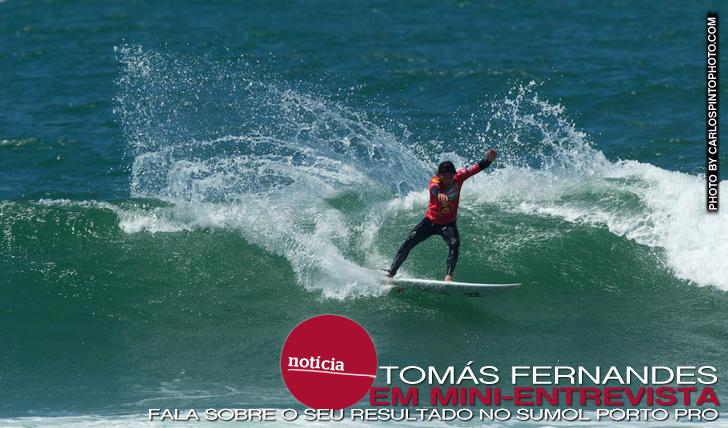9692Tomás Fernandes fala sobre o seu resultado no Sumol Porto Pro | Mini-Entrevista