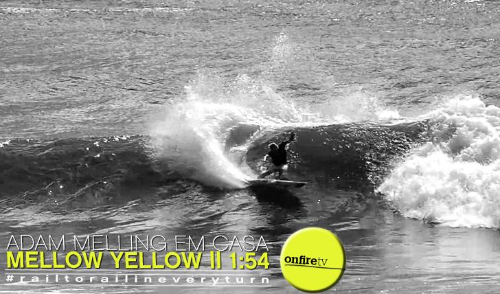 9564Adam Melling em casa | Mellow Yellow || 1:54