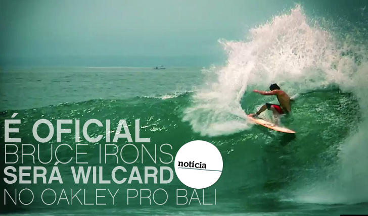 10436Bruce Irons será wildcard no Oakley Pro Bali