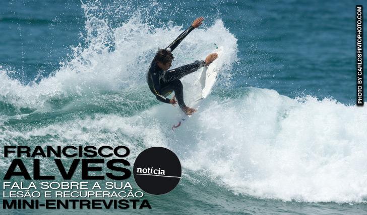 10557Francisco Alves fala sobre a sua lesão | Mini-Entrevista