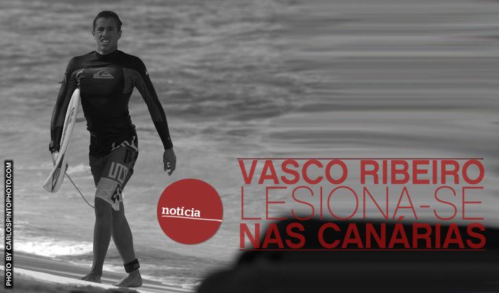 10583Vasco Ribeiro lesiona-se nas Canárias