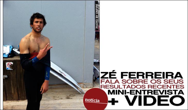 10894Zé Ferreira fala sobre resultados recentes | Mini-Entrevista + Vídeo