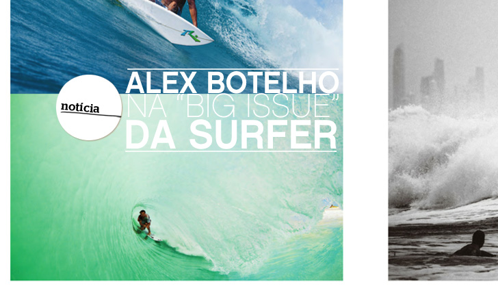 "11327Alex Botelho na ""Big Issue"" da SURFER"