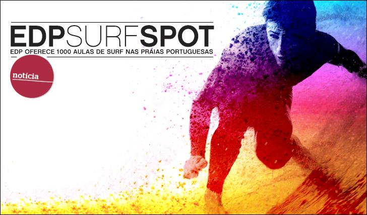 11502EDP Surf Spot | EDP oferece 1000 aulas de surf em praias portuguesas