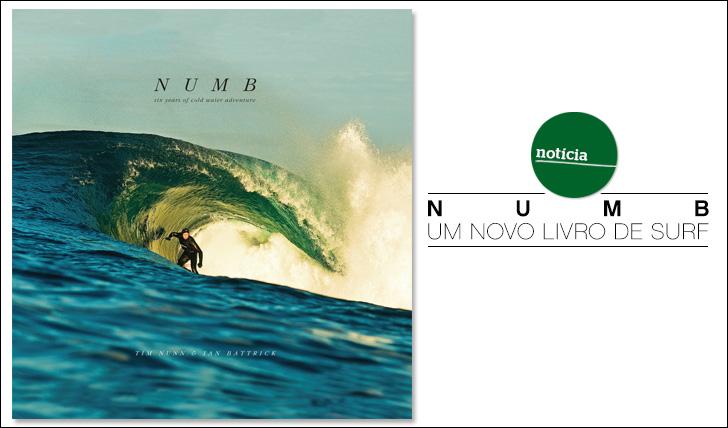 11185Numb | Six years of cold water adventure | Um novo livro de Surf