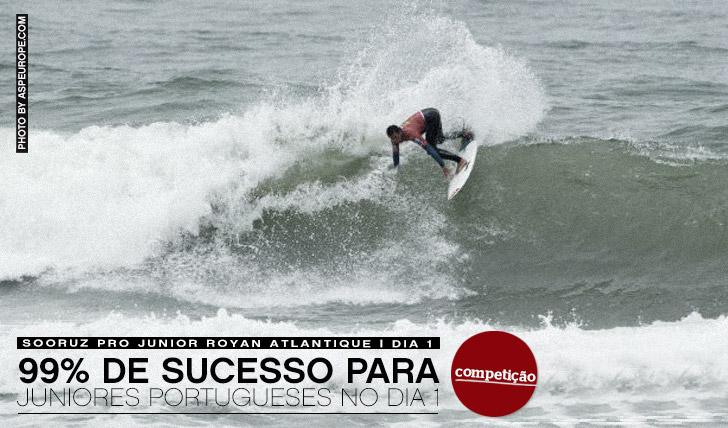 1119999% de sucesso para os juniores portugueses no dia 1 do Sooruz Pro Junior   Dia 2 está ON