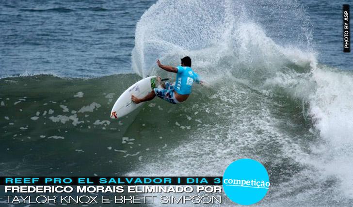 11367Frederico Morais eliminado por Knox e Simpson no Reef Pro El Salvador