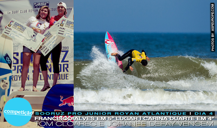 11252Francisco Alves em 5º em Royan | Carina Duarte na final | Sooruz Pro Junior